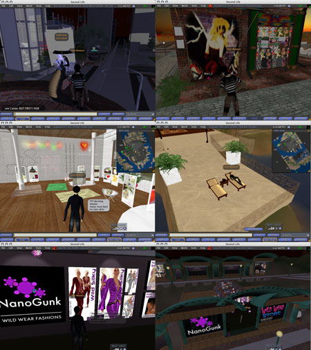 Second Life Tour